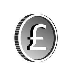 Pound sign icon simple style vector image vector image