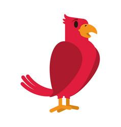 Tropical bird icon image vector