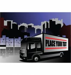 shipping vector image