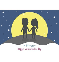 Happy valentine s day card12 vector