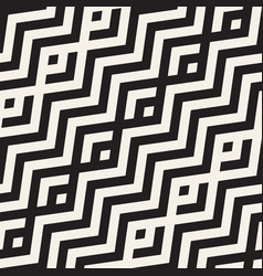 Abstract zigzag parallel stripes seamless vector