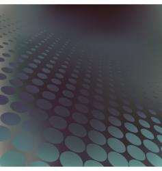 dark dots vector image vector image
