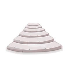 Stone step vector