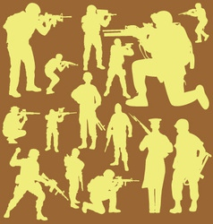 Military digital clipart 2 vector