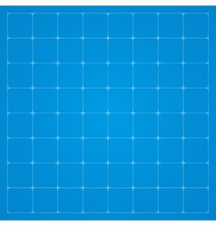 Clean blueprint background vector image
