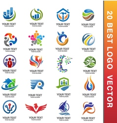 20 best corporate logo vector