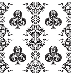 Pattern Club Ornamental vector image vector image