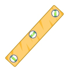 Level measurement icon cartoon style vector