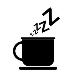 New sleep black icon vector image