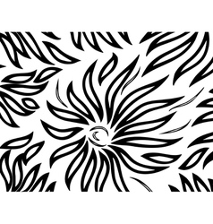 Pattern on a white background vector
