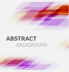 abstract purple and red business straight line vector image vector image