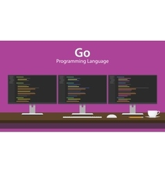 Go programming language code vector