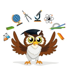 Knowledge owl vector