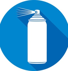 Spraycan icon vector