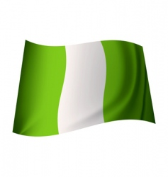 Nigerian flag vector