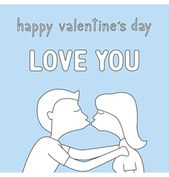 Happy valentine s day card13 vector