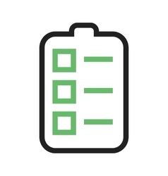 Tasks list vector