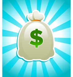 bag of money vector image