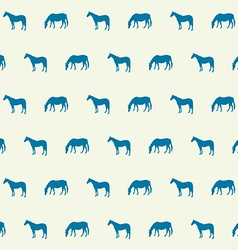 Abstract horse silhouette seamless pattern vector