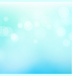 Blur blue abstract image with shining lights vector