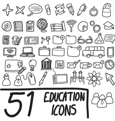 51 icons vector