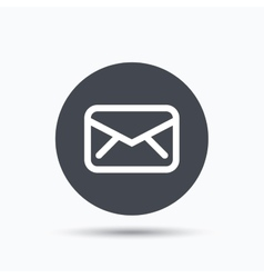 Envelope icon send message sign vector