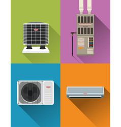 Air condition systems vector