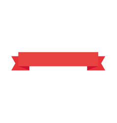 Banner ribbon standard vector