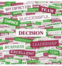 Decision vector