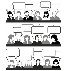people and ideas vector image vector image