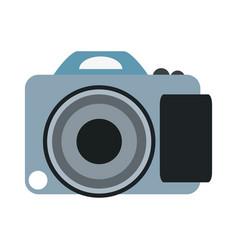 photographic camera symbol vector image