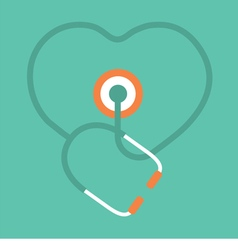 Stethoscope Concept vector image