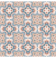 Blue and pink seamless pattern vector