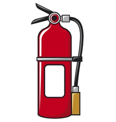Fire extinguisher vector image vector image