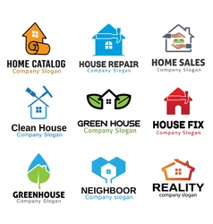 House green deal tools design vector