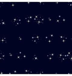 Starry sky seamless pattern vector