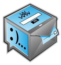 Web communications icon vector