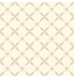 Beige seamless geometric pattern vector