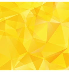Yellow triangle abstract background vector