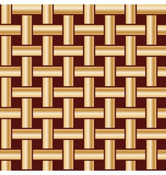 Golden fabric tiles vector