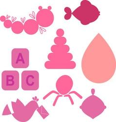 BabyNewBorns 1 vector image