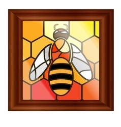 image of bee vector image