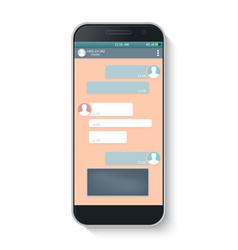 messenger window vector image vector image