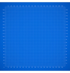 Scientific engineering grid paper with scale vector image