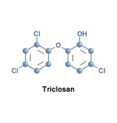 Triclosan antibacterial antifungal vector