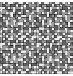Abstract grayscale pixel background seamless vector