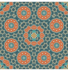 Mandala pattern seamless background for greeting vector