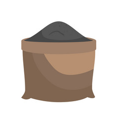 Sand grit sack vector