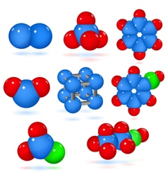 Set of molecules vector