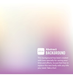 Abstract background template vector image vector image
